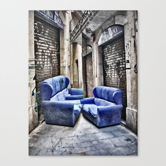 double take or leave Canvas Print