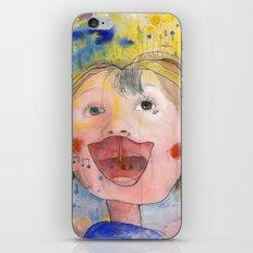 I feel happy iPhone Skin