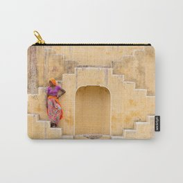 Amber Stepwell II, Rajasthan, India Carry-All Pouch