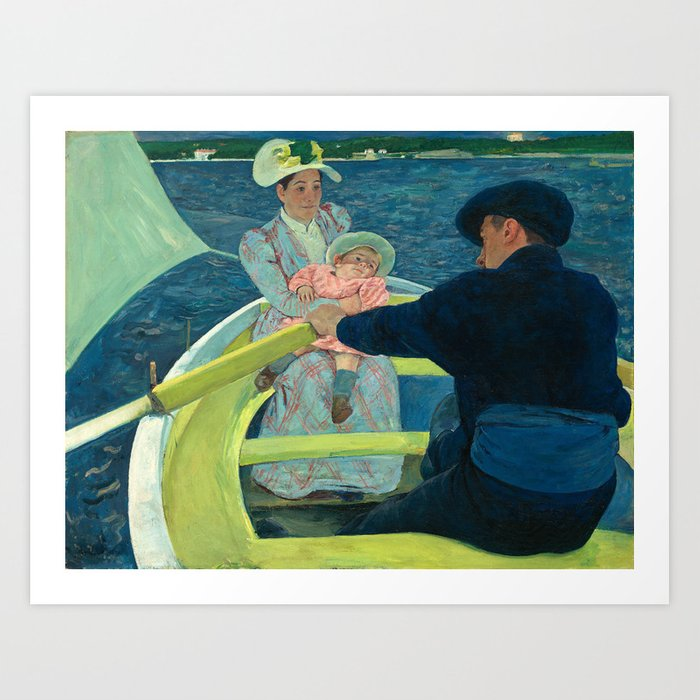 Mary Cassatt, The Boating Party, 1893 Art Print by Fine Earth Prints - X-Small