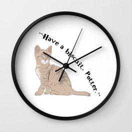 McGonagall Cat Wall Clock