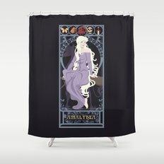 Amalthea Nouveau - The Last Unicorn Shower Curtain