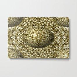 3105 Mosaic pattern #4 Metal Print