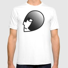 Tower Knight MEDIUM White Mens Fitted Tee