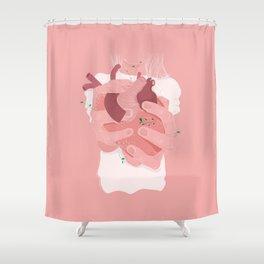 HEARTLESS Shower Curtain