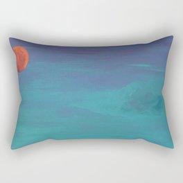 Under a Caribbean Moon Rectangular Pillow