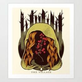 The Village - Movie Poster Art Print