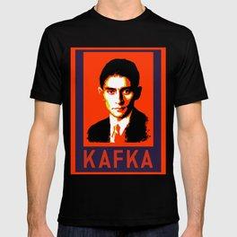 Authors of Note - Franz Kafka T-shirt