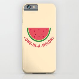 One in a Melon (Watermelon) iPhone Case