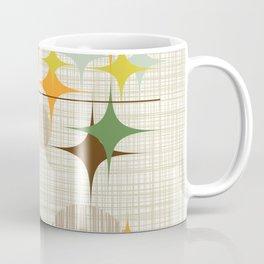 Mid Century Modern Starbursts and Globes 3a Coffee Mug