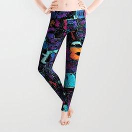 Pop Art Typeset Leggings