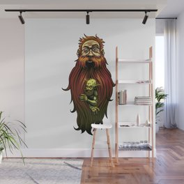 Beard Troll Wall Mural