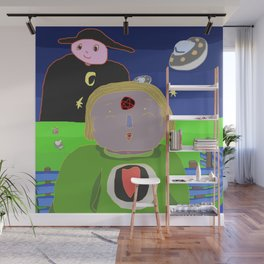 moon child Wall Mural