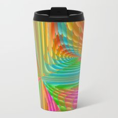 Abstract 359 a dynamic fractal Metal Travel Mug