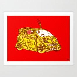 bangalore Art Print
