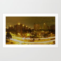 New York Skyline 2 Art Print