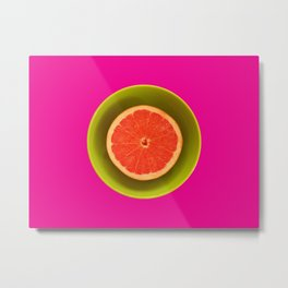 Still life with grapefruit Metal Print