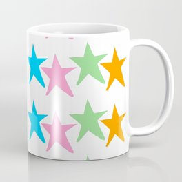 multicolor stars 2-sky,light,rays,hope,pointed,mystical,estrella,nature,spangled,girly,gentle,star Coffee Mug