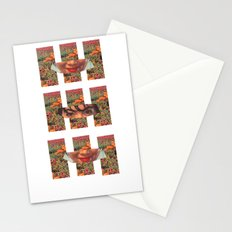Lady in the Field of Flowers Stationery Cards