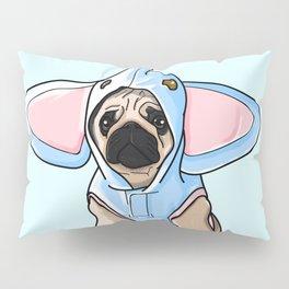 Pug Elephant Costume Pillow Sham