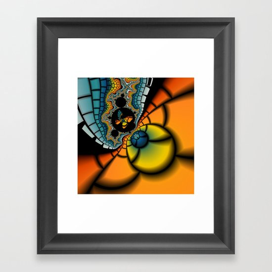 Fractal Cacoon Framed Art Print
