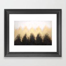 Metallic Abstract Framed Art Print