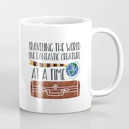 Traveling the World One Fantastic Creature at a Time Coffee Mug