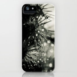 drops on thorns iPhone Case