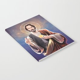 Saint Keanu of Reeves Notebook