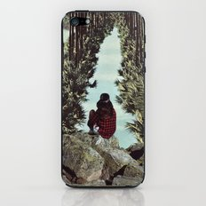 RELENTLESS CORRIDORS iPhone & iPod Skin