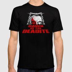 Dawn of the Deadite Black Mens Fitted Tee MEDIUM