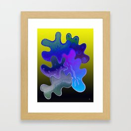 Relaxing Ornamental Spirits. Meditative iFi Art. Stress and Pain Free with MYT3H. Neon. Dreamy. Framed Art Print