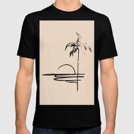 Abstract Landscpe T-shirt