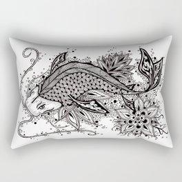 Zen Koi Rectangular Pillow