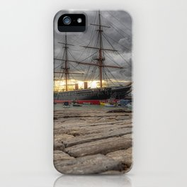 HMS Warrior. iPhone Case