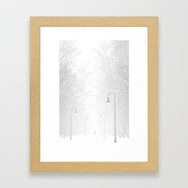 Somerville Bike Path Framed Art Print