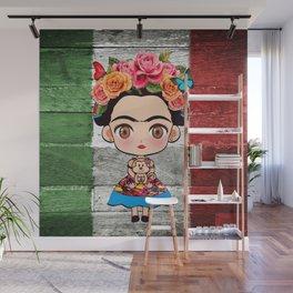 Frida Mexican Wall Mural