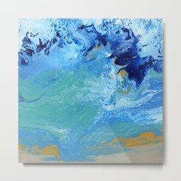 Ocean Swell Metal Print