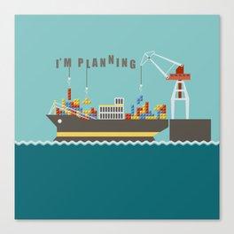 Planner Canvas Print