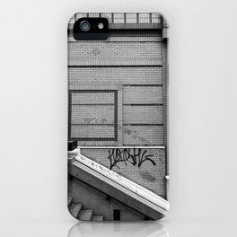 Trying To Just Keep It Real iPhone Case