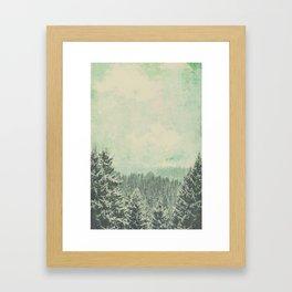 Fading dreams Framed Art Print