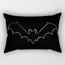 Contours bat, bat fan, animals Rectangular Pillow