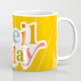 Soleil All day - Positivity in Bright Yellow Coffee Mug