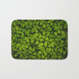 Lush (green leaves) Bath Mat