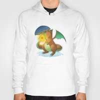 charizard Hoodies featuring Charizard by Jeanette Aga