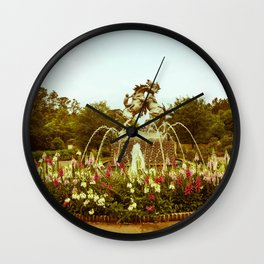 BATTLE OF THE STALLIONS Wall Clock