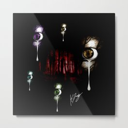 A Cry For A Fallen World Metal Print