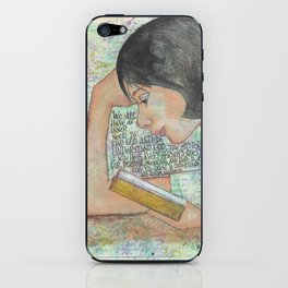 Inner Need by patsy paterno iPhone Skin