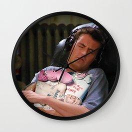 Peep Heals the Soul Wall Clock