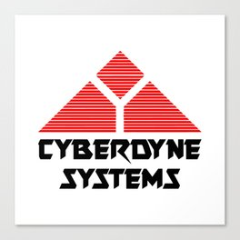 TERMINATOR - CYBERDYNE SYSTEMS Canvas Print